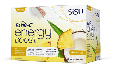 Supplements & Vitamins - Sisu Ester-C Energy Boost Pina Colada Single