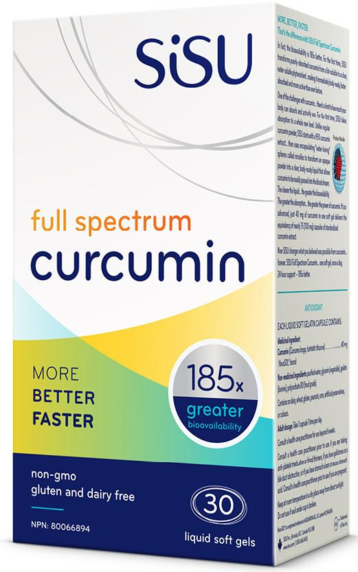 Supplements & Vitamins - Sisu - Full Spectrum Curcumin - 30 Softgels