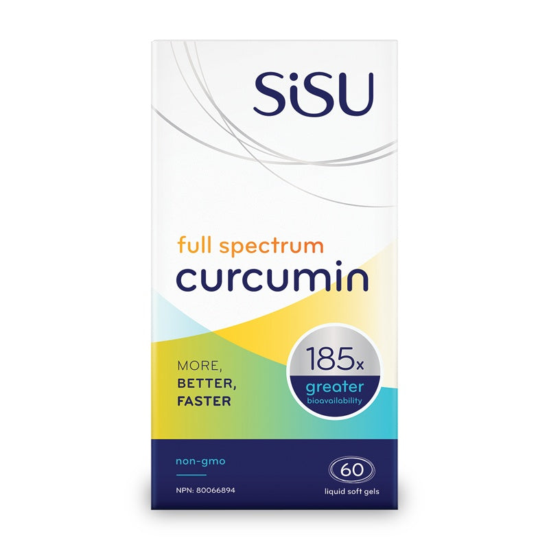 Supplements & Vitamins - Sisu - Full Spectrum Curcumin - 60 Softgels