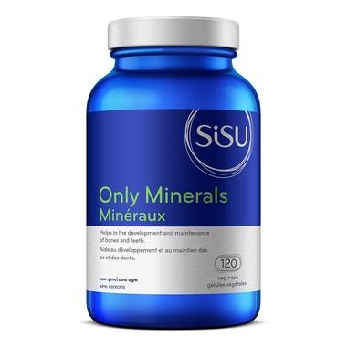 Supplements & Vitamins - Sisu - Only Minerals Iron-free - 120 Caps