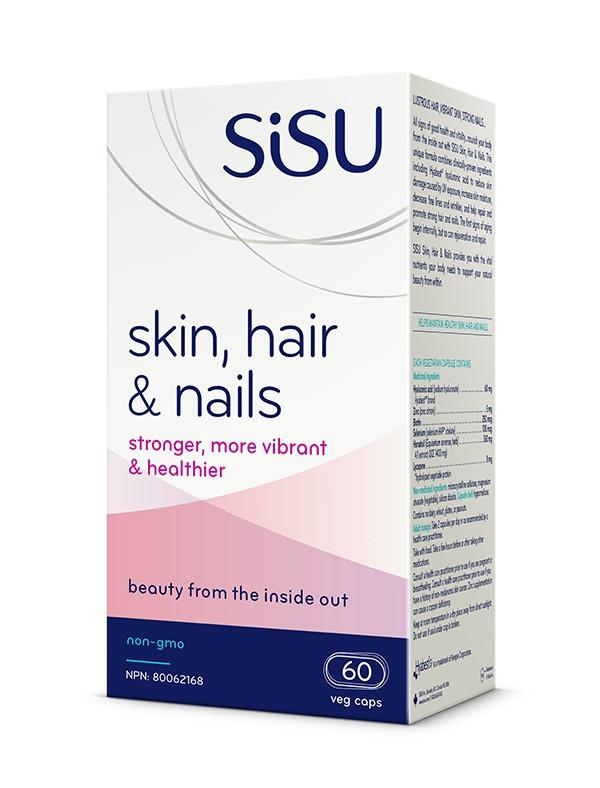 Supplements & Vitamins - Sisu - Skin, Hair, & Nails, 60 Caps