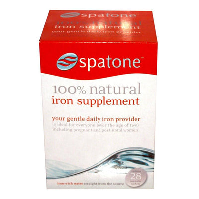 Supplements & Vitamins - SpaTone - Liquid Iron, 28 Sachets