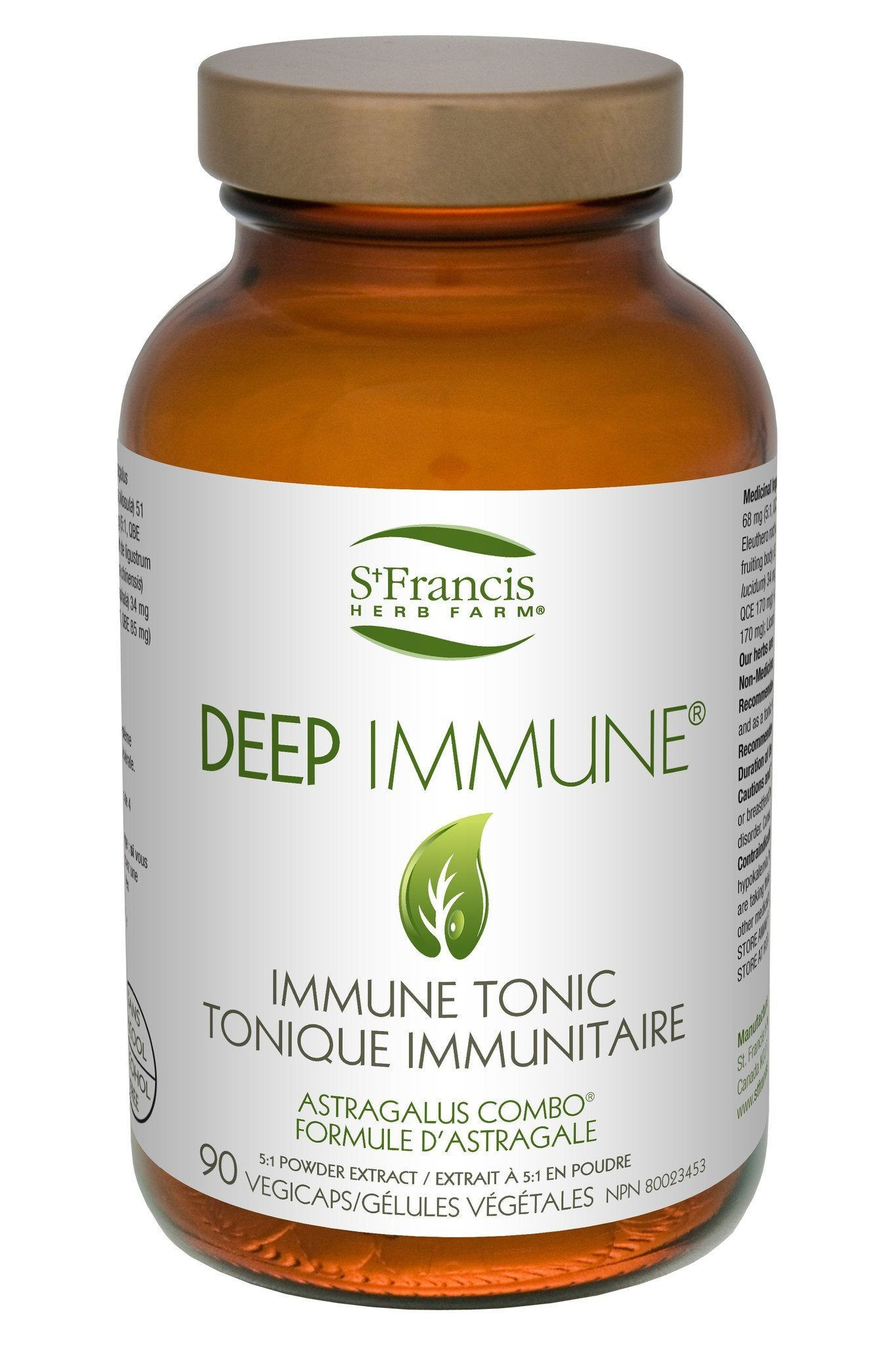 Supplements & Vitamins - St. Francis - Deep Immune, 90 Caps