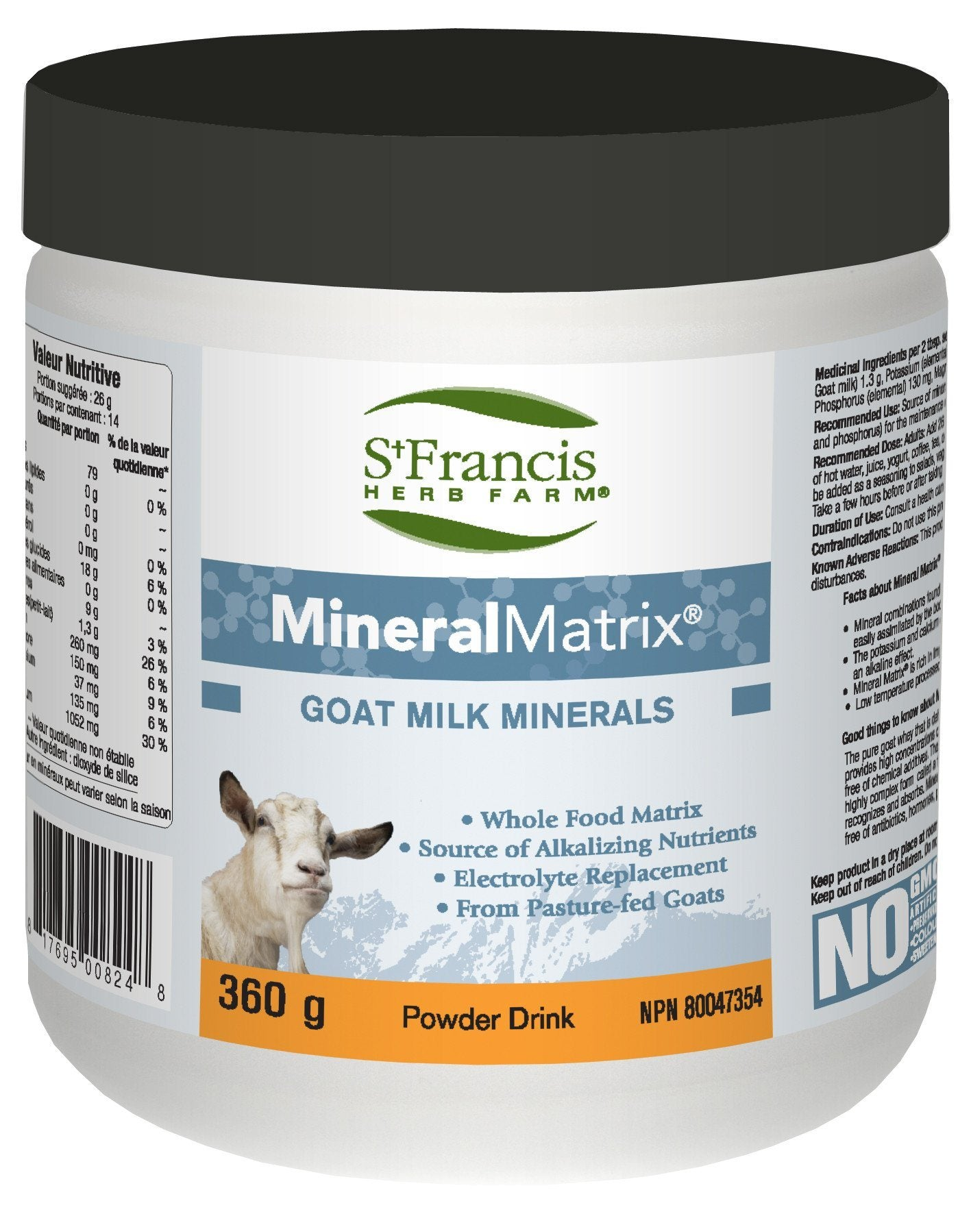 Supplements & Vitamins - St. Francis - Mineral Matrix, 360g