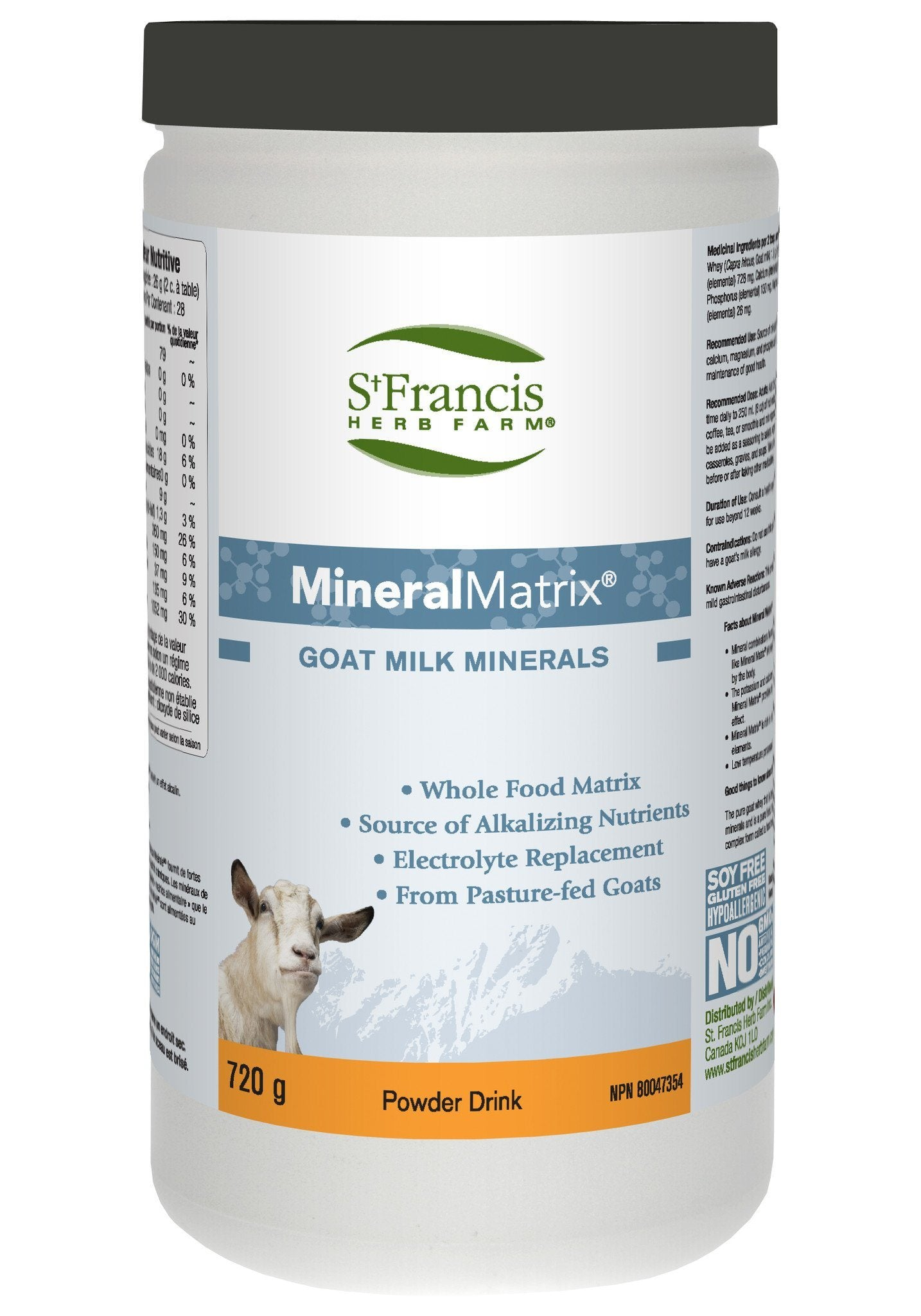 Supplements & Vitamins - St. Francis - Mineral Matrix, 720g