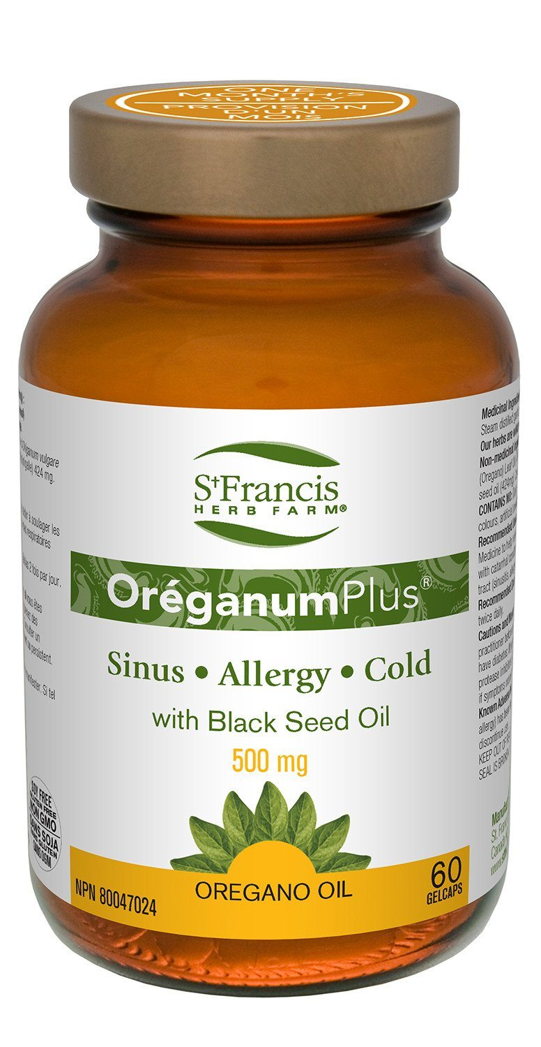 Supplements & Vitamins - St. Francis - Oréganum Plus, 60 Caps