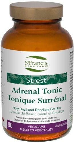 Supplements & Vitamins - St. Francis - Strest Adrenal Tonic, 90 Caps