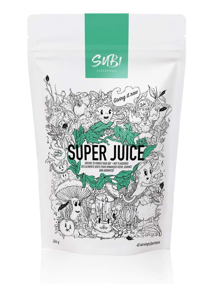 Supplements & Vitamins - Subi Foods - Super Juice, 264g