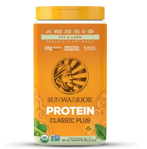 Supplements & Vitamins - Sun Warrior - Classic Plus (natural), 750g