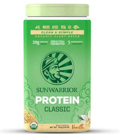 Supplements & Vitamins - Sun Warrior - Classic Rice Protein (vanilla), 750g