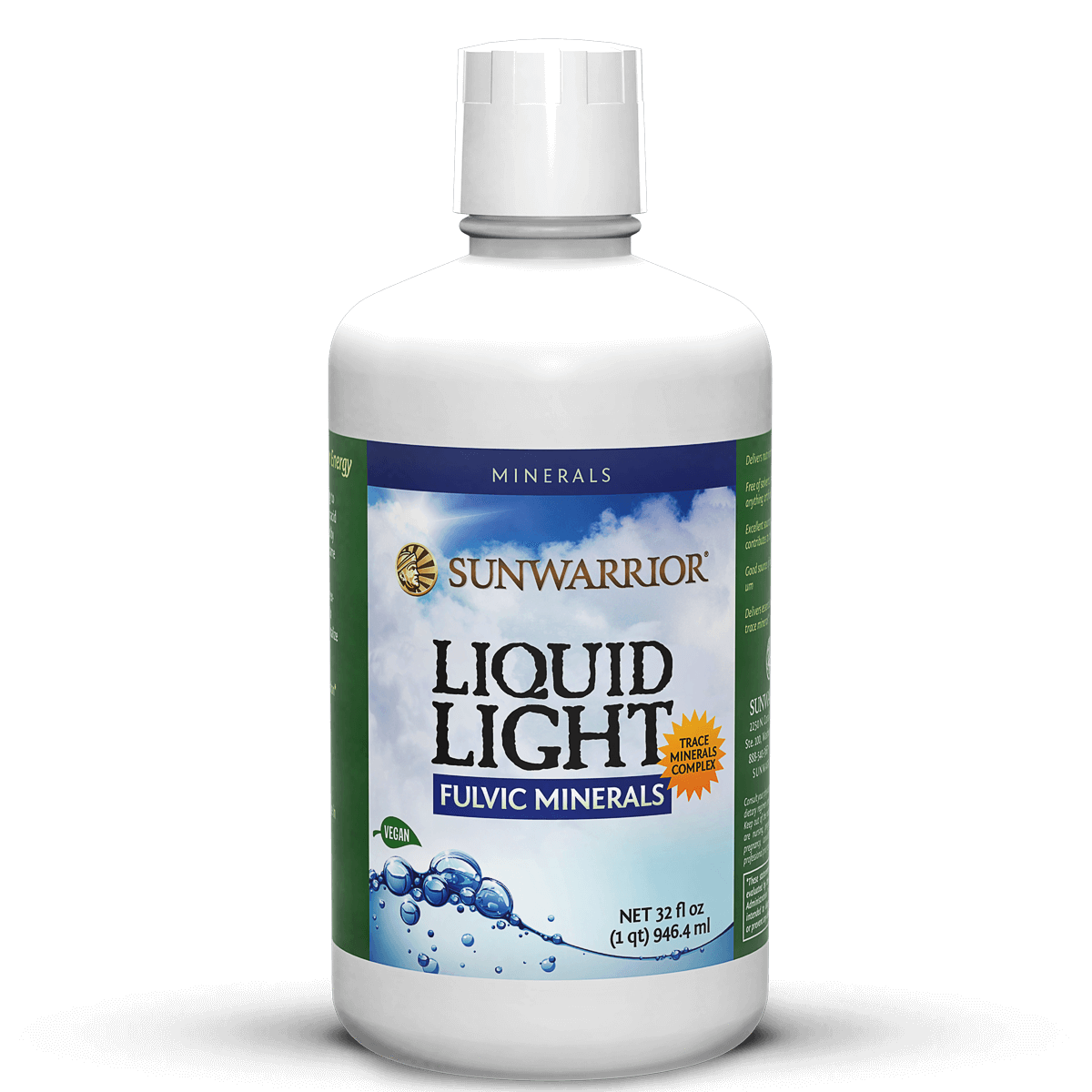 Supplements & Vitamins - Sun Warrior - Liquid Light, 940mL