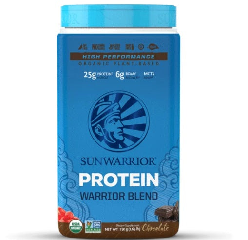 Supplements & Vitamins - Sun Warrior - Warrior Blend Protein (chocolate), 750g