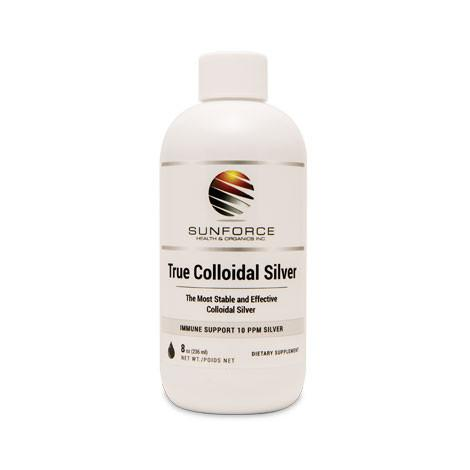 Supplements & Vitamins - SunForce - Colloidal Silver, 8oz