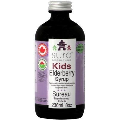 Supplements & Vitamins - Suro - Elderberry Syrup Kids, 236ml