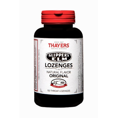 Supplements & Vitamins - Thayers - Slippery Elm Lozenges - Original, 150 Lozenges