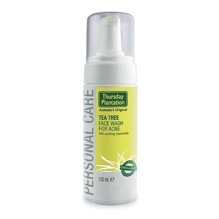 Supplements & Vitamins - Thursday Plantation - Tea Tree Face Wash Foam - 150ml