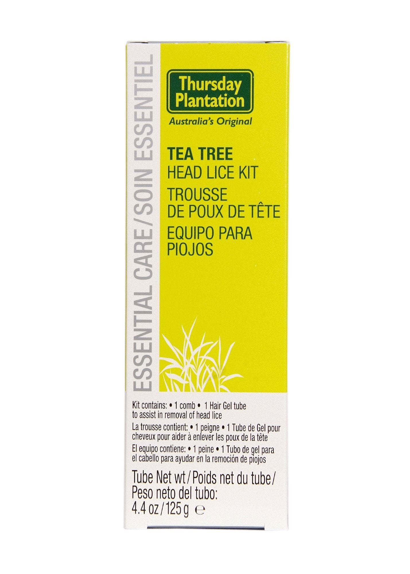 Supplements & Vitamins - Thursday Plantation - Tea Tree Head Lice Kit, 125g