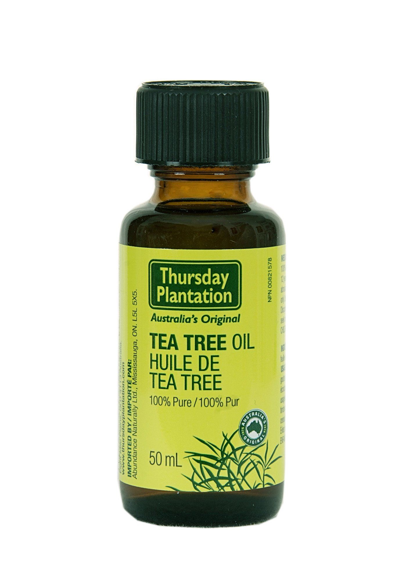 Supplements & Vitamins - Thursday Plantation - Tea Tree Oil, 50ml