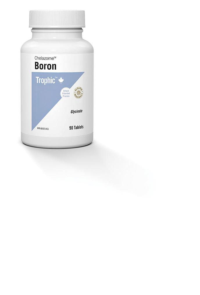 Supplements & Vitamins - Trophic - Boron (Chelazome), 90 Tabs