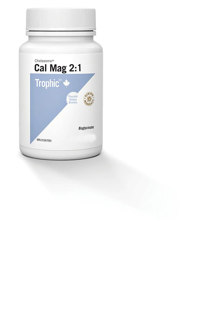 Supplements & Vitamins - Trophic - Cal Mag 2:1 (Chelazome), 240 Vcaps