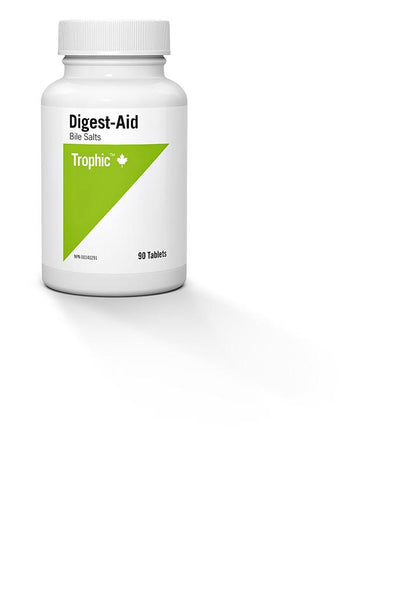 Supplements & Vitamins - Trophic - Digest-Aid Bile Salts, 90 Tabs