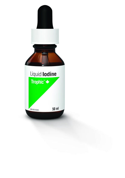 Supplements & Vitamins - Trophic - Iodine (Liquid), 50ml