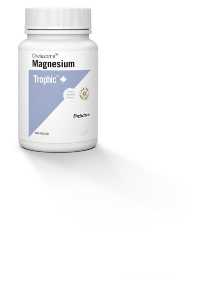 Supplements & Vitamins - Trophic - Magnesium (Chelazome), 90 Caps