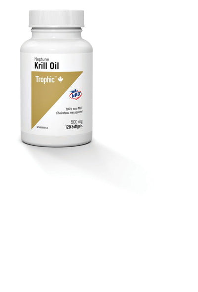 Supplements & Vitamins - Trophic - Neptune Krill Oil, 120 Caps
