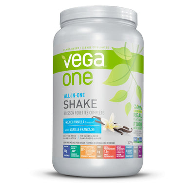 Supplements & Vitamins - Vega - All In One Nutritional Shake French Vanilla,  829g