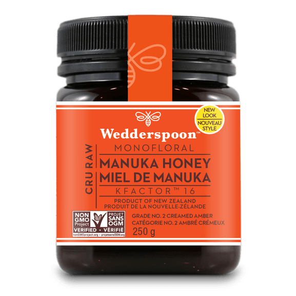 Supplements & Vitamins - Wedderspoon - Manuka Honey Active 16+ - 250g
