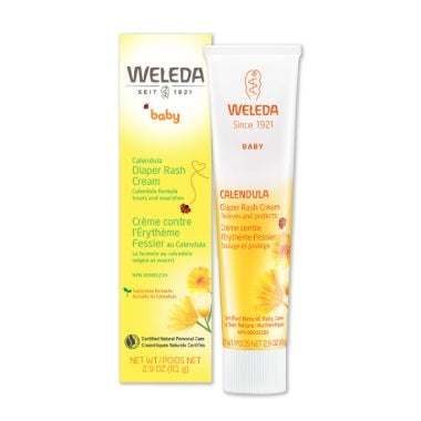 Supplements & Vitamins - Weleda - Calendula Diaper Care, 81g