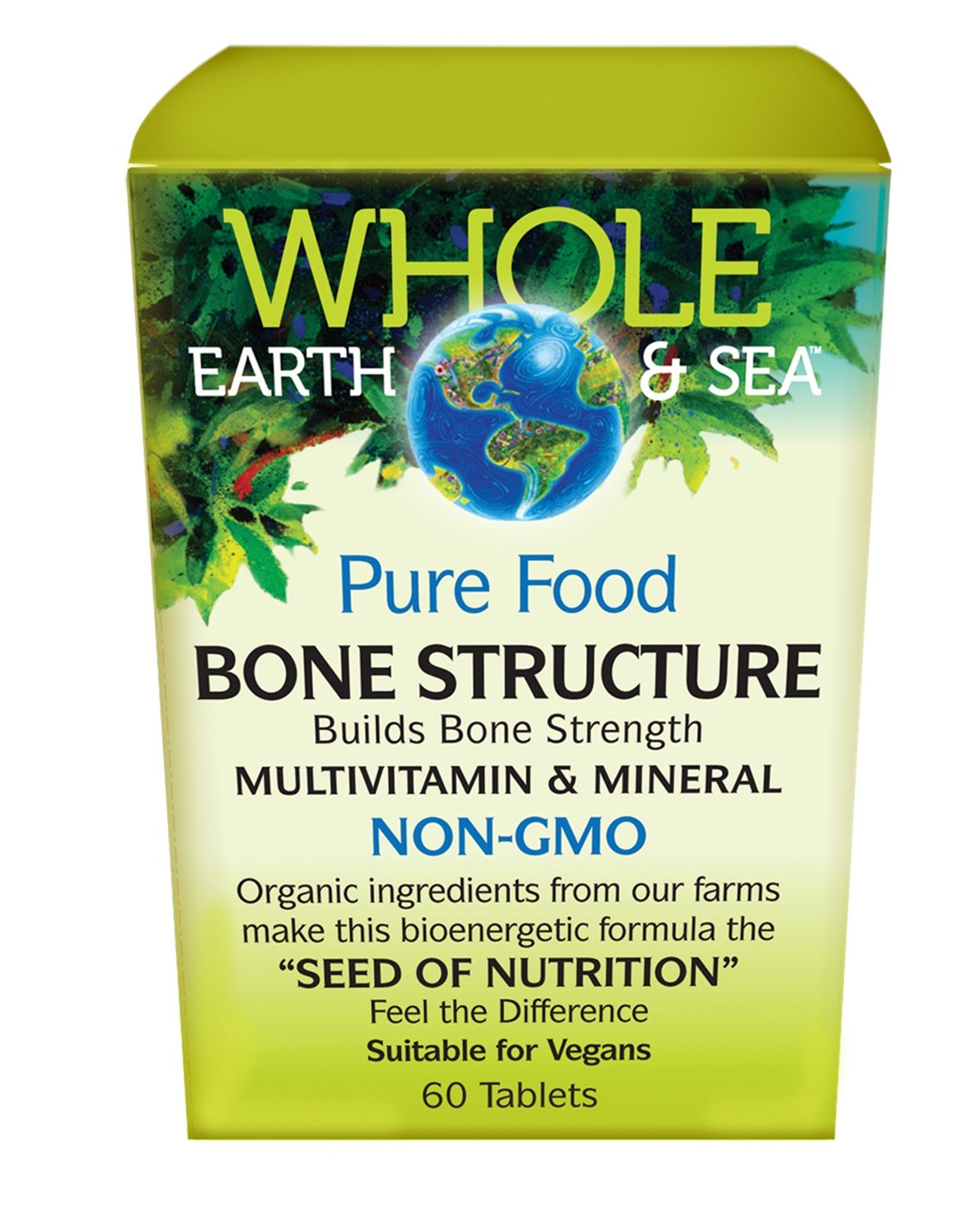 Supplements & Vitamins - Whole Earth & Sea - Bone Structure Multivitamin & Mineral, 60 Tabs