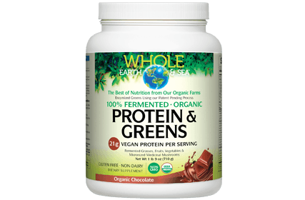 Supplements & Vitamins - Whole Earth & Sea - Fermented Organic Greens, 438g