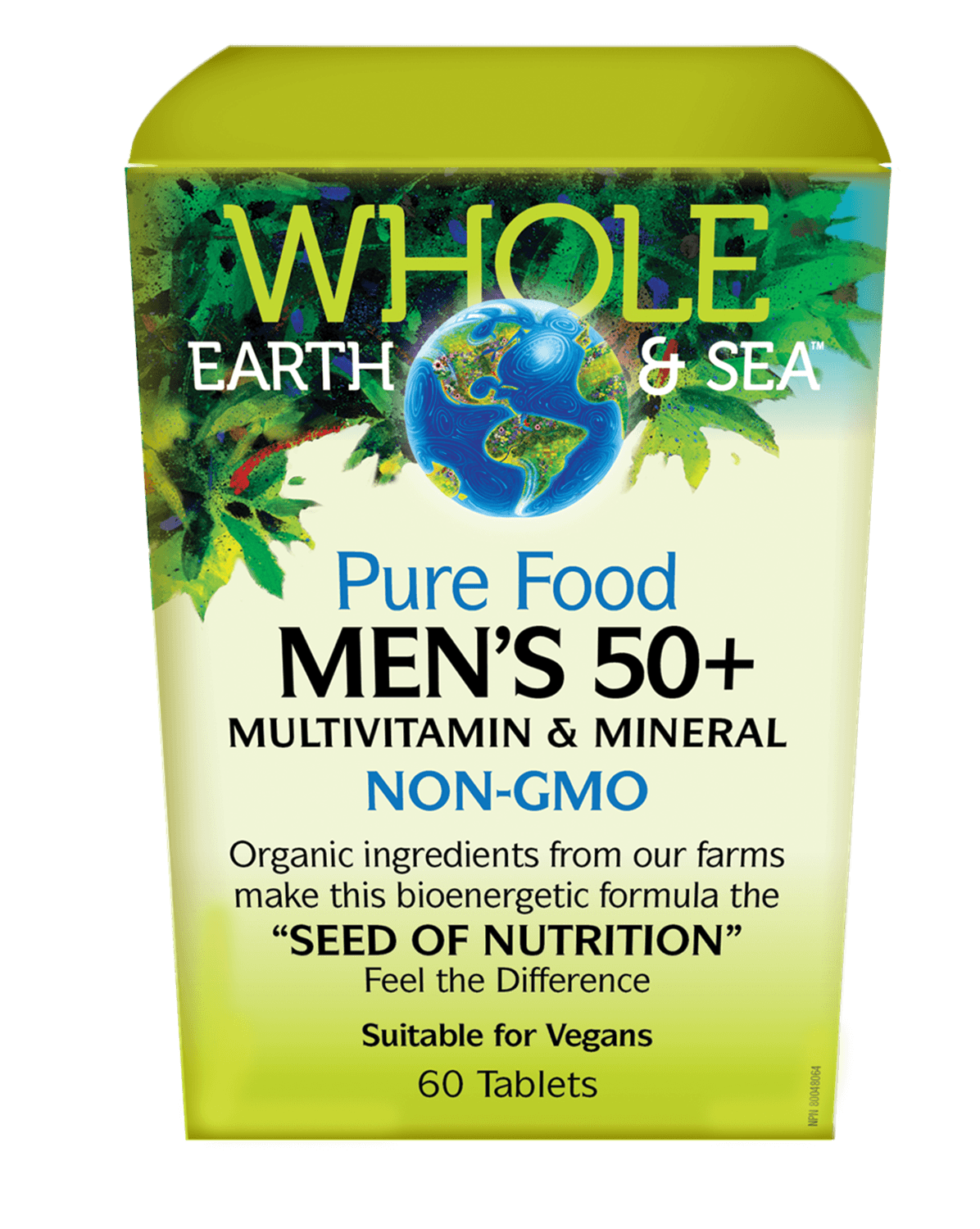 Supplements & Vitamins - Whole Earth & Sea - Men's 50+ Multivitamin & Mineral, 60 Tabs
