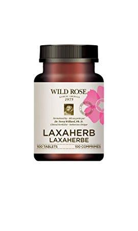 Supplements & Vitamins - Wild Rose - Laxaherb - 100 Tabs