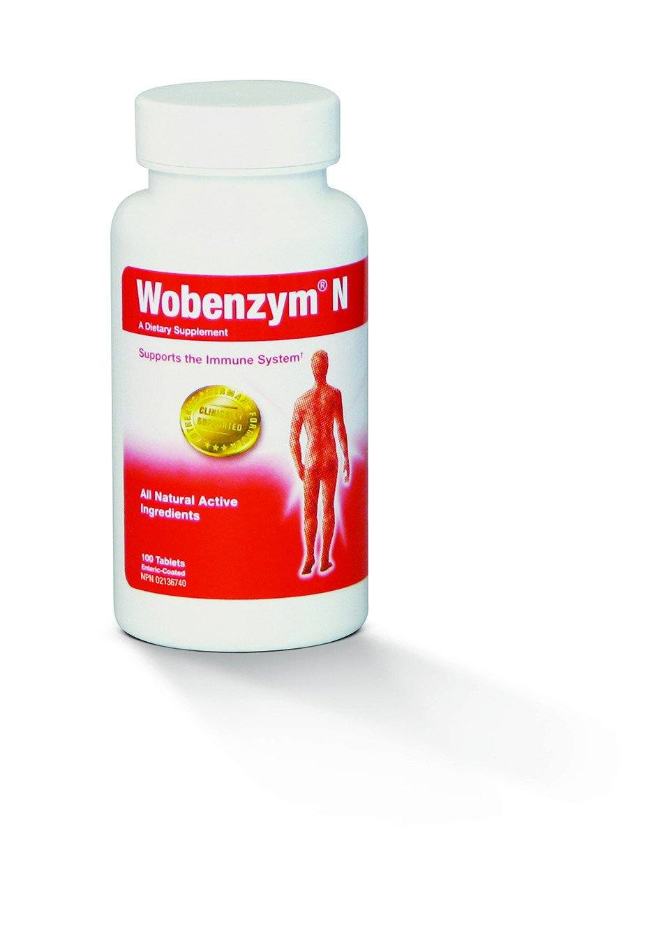 Supplements & Vitamins - Wobenzym N, 100 Tabs