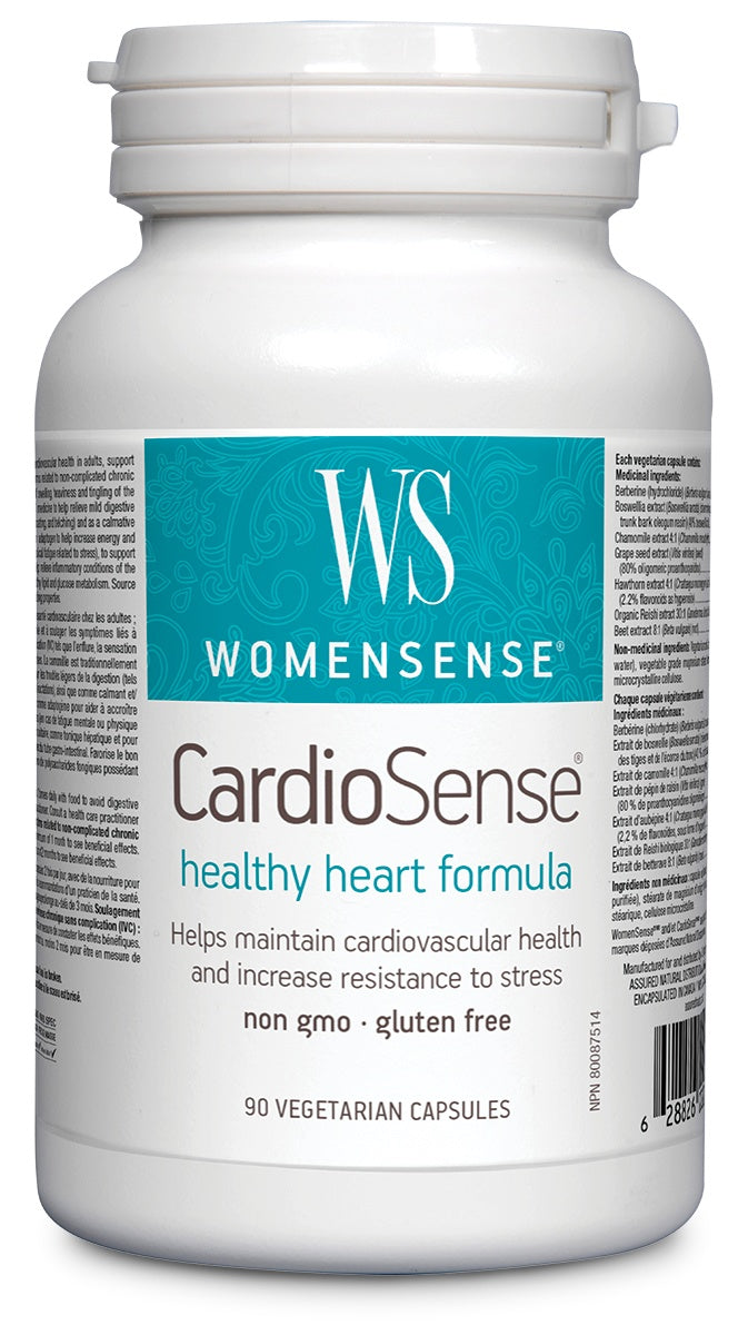Supplements & Vitamins - WomenSense - CardioSense, 90 Vegicaps