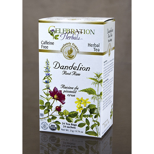 Celebration Herbals - Organic Raw Dandelion Root Tea,  24 bags - Goodness Me!