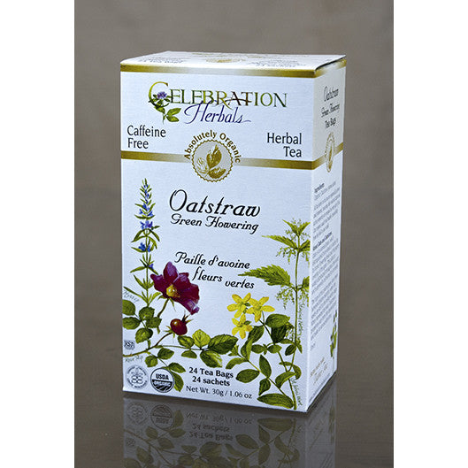 Celebration Herbals - Organic Oat Straw Tea, 24 bags - Goodness Me!