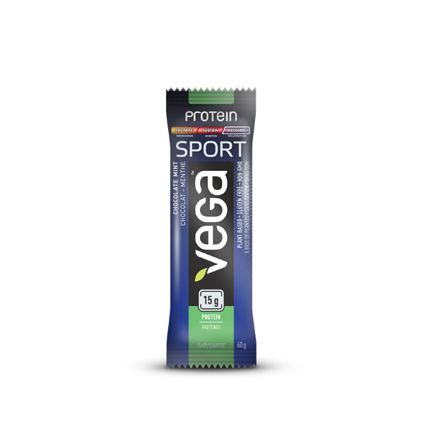 Vega - Sport Protein Bar Chocolate Mint, 60g - Goodness Me! - 1
