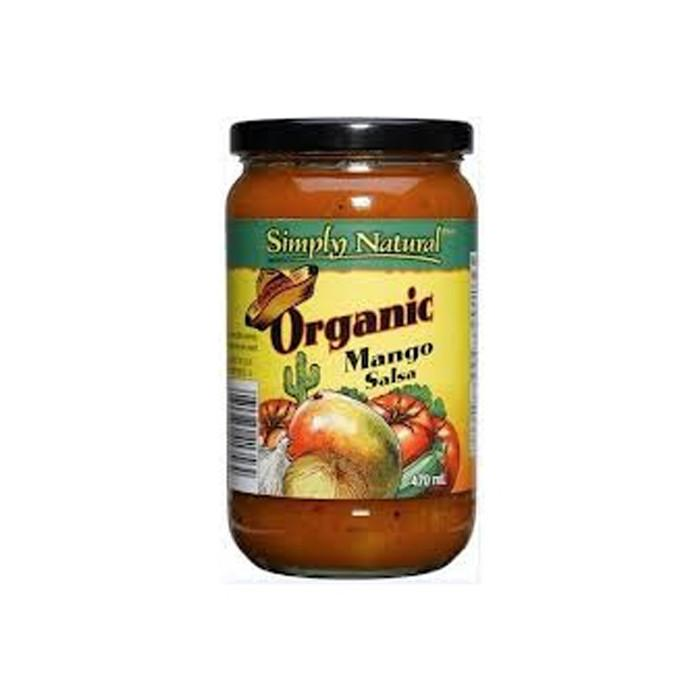 What's New,Food & Drink - Simply Natural - Organic Mango Salsa, 470ml