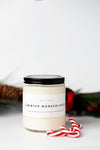 Wax + Fire - Winter Wonderland Soy Candle, 8oz
