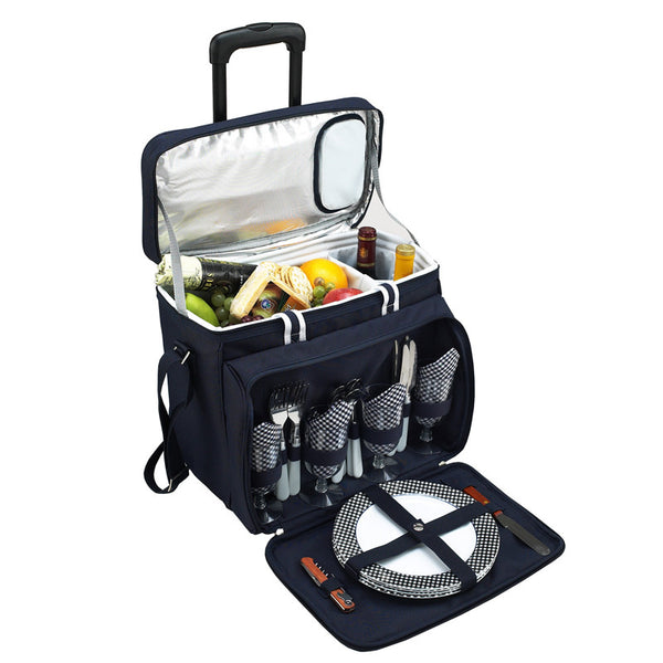 Bold Picnic Cooler for 4 on Wheels - The Picnic Store - 1