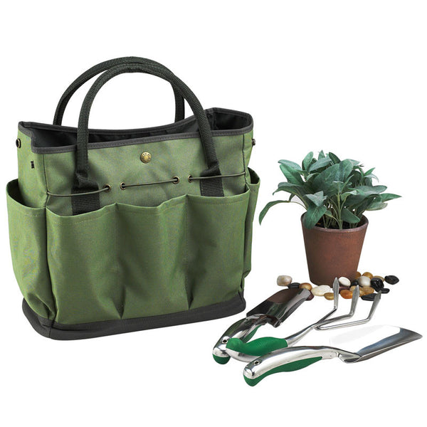 Floral Gardening Tote with Tools - The Picnic Store - 2