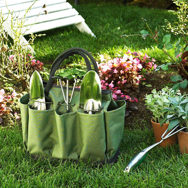 Floral Gardening Tote with Tools - The Picnic Store - 3