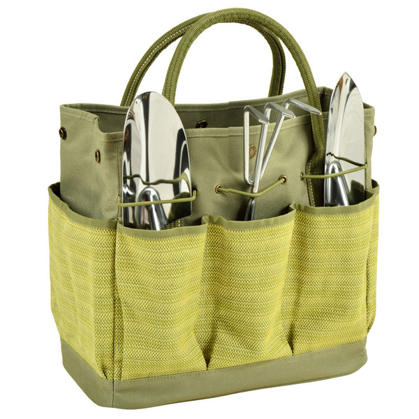 Hamptons Gardening Tote with Tools - The Picnic Store