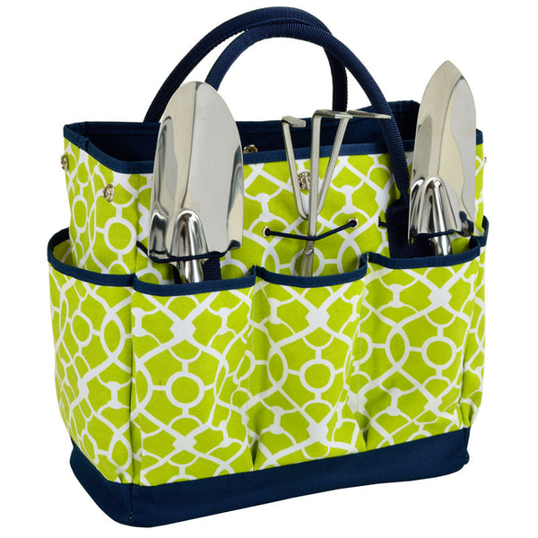 Trellis Green Gardening Tote with Tool - The Picnic Store - 1