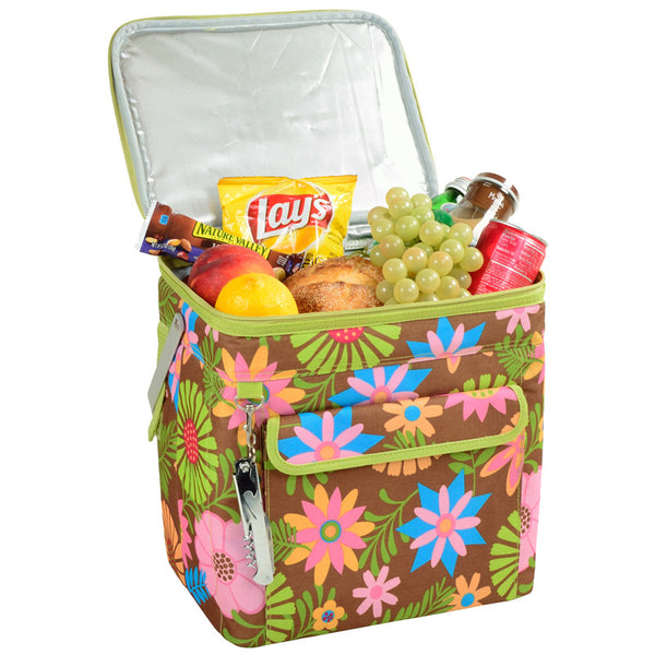 Floral Multi Purpose Cooler - 24 can - The Picnic Store - 1