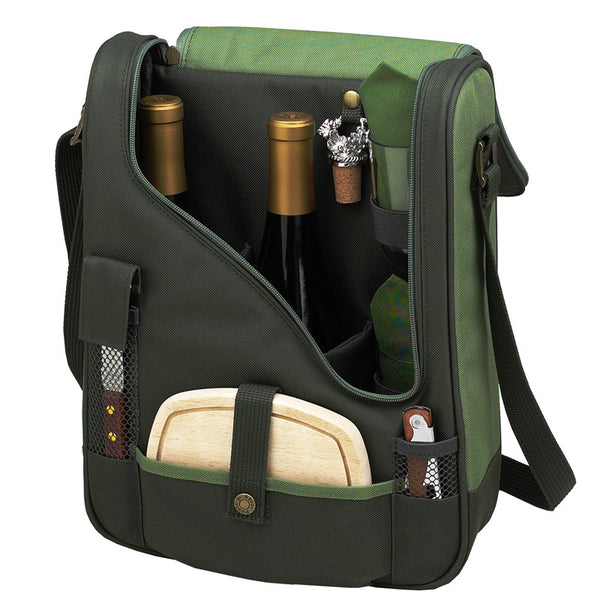 Floral Pinot Wine and Cheese Cooler for 2 - The Picnic Store - 1