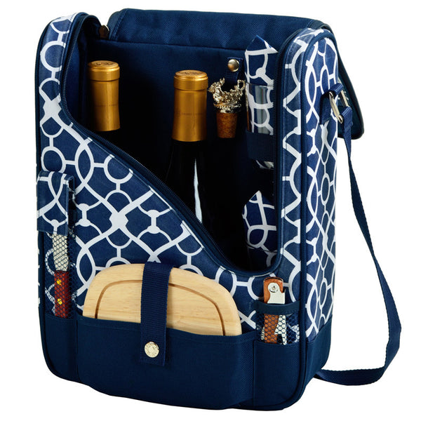 Trellis Blue Pinot Wine and Cheese Cooler for 2 - The Picnic Store - 1